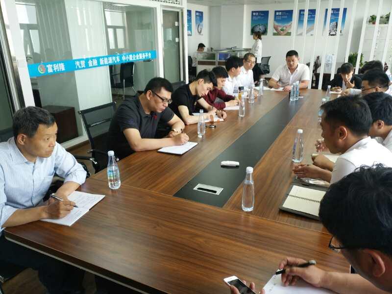 安徽省中小企业服务中心到淮北和阜阳等地调研
